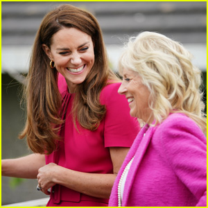 Kate Middleton Meets First Lady Jill Biden & Reacts to a Question About Lilibet!