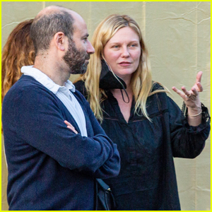 Kirsten Dunst Steps Out for Dinner with Friends in Studio City