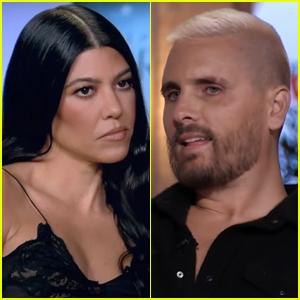 Kourtney Kardashian Brings Up Scott Disick's 'Substance Abuse' in 'KUWTK' Reunion Teaser - Watch Now