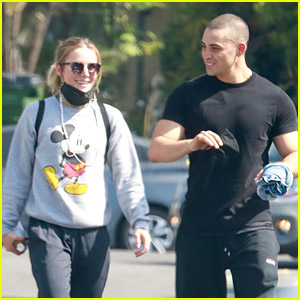 Kristen Bell Hits the Gym with Benjamin Levy Aguilar After the Holiday Weekend
