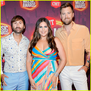 Lady A Brightens Up the Red Carpet at CMT Music Awards 2021