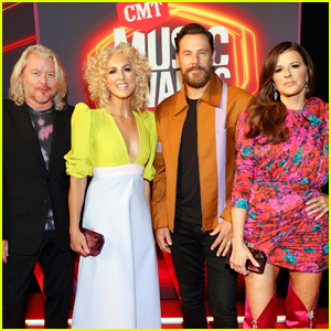 Little Big Town Hits the Red Carpet at CMT Music Awards 2021