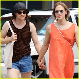 Lucas Hedges & Tommy Dorfman Spotted Holding Hands While Walking Around New York City
