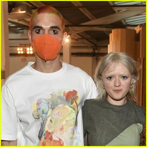 Maisie Williams Supports Boyfriend Reuben Selby at London Fashion Week Show