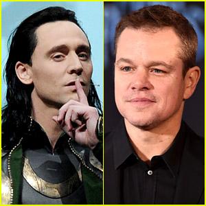 Tom Hiddleston Reacts to Recent Photos of Matt Damon as Fake Loki