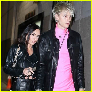 Megan Fox & Machine Gun Kelly Hold Hands After Attending an Event Together in LA