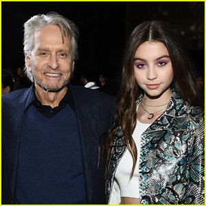 Michael Douglas Was Awkwardly Mistaken For Daughter Carys' Grandfather