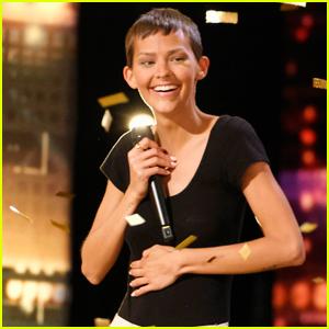 Simon Cowell Gives Cancer-Striken Nightbirde Golden Buzzer on 'America's Got Talent'  - Watch Her Performance!