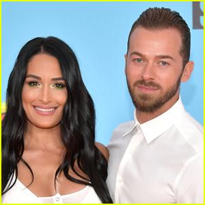 Nikki Bella Explains Why She's Putting Wedding to Fiance Artem Chigvintsev on Hold