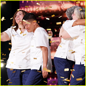 Choir of NYC Nurses Gets Golden Buzzer on 'AGT' Season Premiere - Watch the Inspiring Audition!