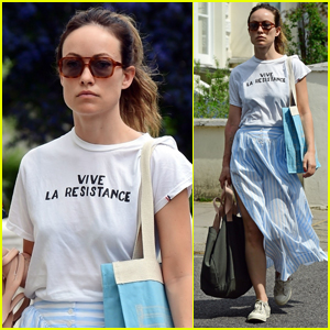 Olivia Wilde Heads Out for a Stroll in Sunny London