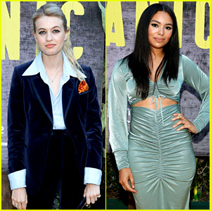 'Panic' Stars Olivia Welch & Jessica Sula Attend Outdoor Screening of the New Amazon Series