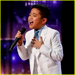 10-Year-Old Peter Rosalita Wows 'America's Got Talent' Judges by Belting Out 'All By Myself' (Video)