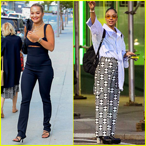 Rita Ora & Tessa Thompson Are Both Back in the U.S. After 'Thor' Wrapped Production
