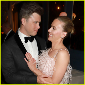 Scarlett Johansson Reveals That She Can't Always Run Lines With Husband Colin Jost