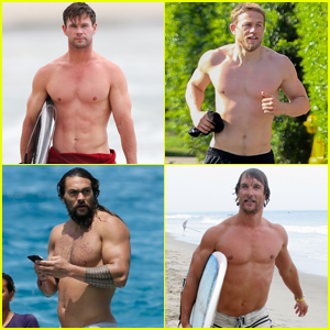Which Actors Appear Shirtless the Most in Their Movies? Find Out!