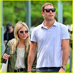 Sienna Miller Holds Hands with Archie Keswick in New Photos!