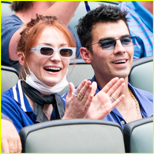 Sophie Turner Shows Off Newly Dyed Red Hair at Baseball Game with Joe Jonas!