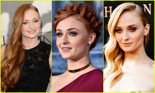Sophie Turner's Hair Style Evolution Over the Years!