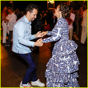 Lin-Manuel Miranda & Vanessa Nadal Dance The Night Away at 'In The Heights' After Party